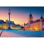 Puzzle  Castorland-52486 Varsovie