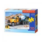 Puzzle  Castorland-B-007110 Camion Toupie