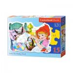 Puzzle  Castorland-B-015030 Le Petit Chaperon Rouge