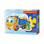 Puzzle  Castorland-B-015061 Camion de Sable
