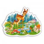 Puzzle  Castorland-B-015115 Petites Biches