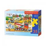 Puzzle  Castorland-B-035069 Chantier