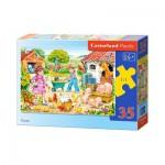 Puzzle  Castorland-B-035076 La Ferme