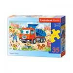 Puzzle  Castorland-B-035144 Camion Benne