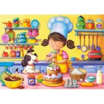 Puzzle  Castorland-B-06885 Little Cook