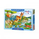 Puzzle  Castorland-C-02177 Pièces Maxi - Bambi