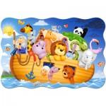 Puzzle  Castorland-C-02245 Pièces XXL - Arche de Noë