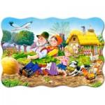 Puzzle  Castorland-C-02283 Pièces XXL - La Grosse Carotte
