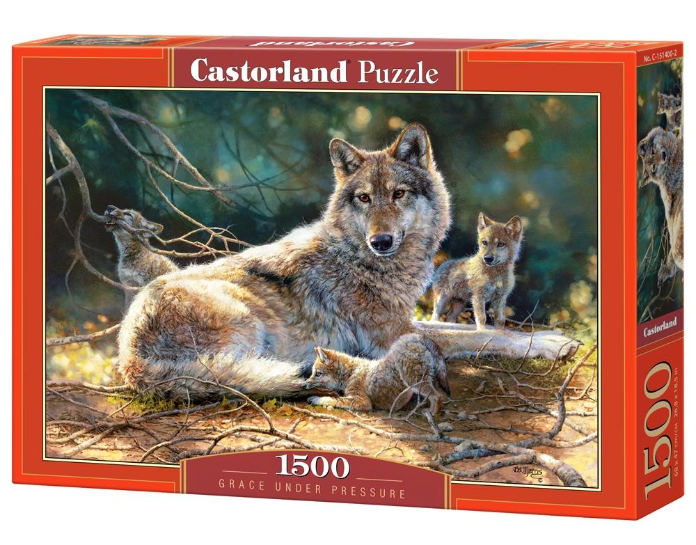 puzzle grace under pressure castorland 151400 1500 pi ces. Black Bedroom Furniture Sets. Home Design Ideas