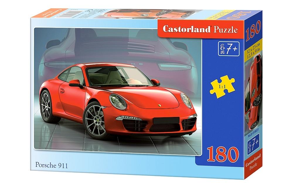puzzle porsche 911 castorland 018031 180 pi ces puzzles voitures motos et camions planet. Black Bedroom Furniture Sets. Home Design Ideas