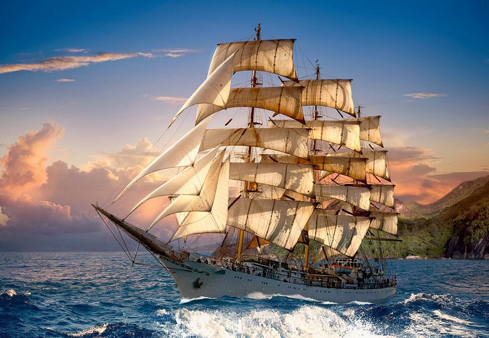 Spanish galleon 3 - 3 6