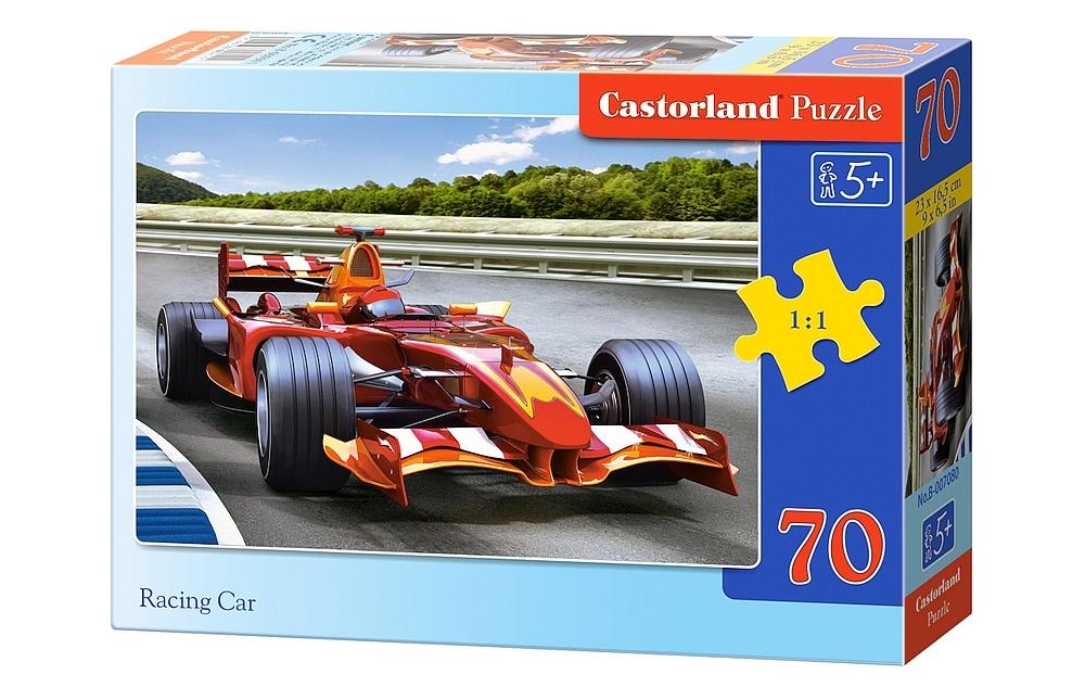 puzzle voiture formule 1 castorland b 007080 70 pi ces puzzles voitures motos et camions. Black Bedroom Furniture Sets. Home Design Ideas