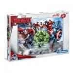 Puzzle  Clementoni-07516 Pièces XXL - Avengers