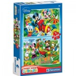 2 Puzzles - Mickey Mouse
