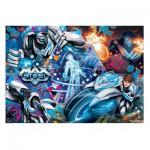 Puzzle  Clementoni-20091 3D Vision - Max Steel