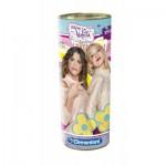 Clementoni-21702 Puzzle Tube et Tirelire - Violetta et Ludmila