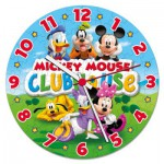 Clementoni-23018 Puzzle Horloge - Club Mickey