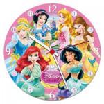 Clementoni-23020 Puzzle Horloge - Princesses Disney