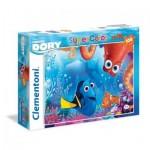 Puzzle  Clementoni-23976 Pièces XXL - Finding Dory