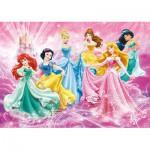 Clementoni-24466 Puzzle XXL - Disney Princesses