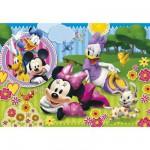 Puzzle  Clementoni-26738 Pièces XXL - Minnie et Daisy Rêve de filles