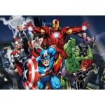 Puzzle  Clementoni-26749 Pièces XXL - Avengers