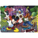 Clementoni-26884 Puzzle 60 pièces : Mickey Une star est née