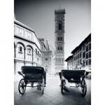 Puzzle  Clementoni-30347 Florence en noir et blanc