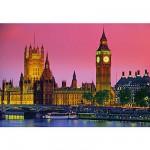 Puzzle  Clementoni-30378 Londres de Nuit