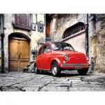 Puzzle  Clementoni-30575 Fiat 500