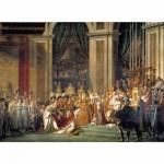 Puzzle  Clementoni-31416 David : Le Sacre de l'Empereur Napoléon 1er