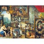 Puzzle  Clementoni-33542 Brueghel Pieter: L'Allégorie de la vue