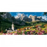Puzzle  Clementoni-38007 Italie, Les Dolomites