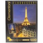 Clementoni-39210 Puzzle Fluorescent - Paris by Night