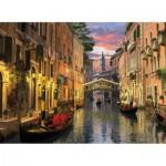 Puzzle  Clementoni-39218 Romantique Venise