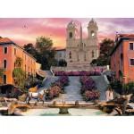 Puzzle  Clementoni-39219 Romantique Rome