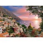 Puzzle  Clementoni-39221 Italie, Romantique Positano