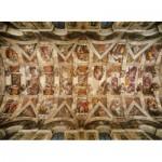 Puzzle  Clementoni-39225 Michel Ange - Voûte de la Chapelle Sixtine