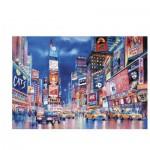 Clementoni-39249 Puzzle Fluorescent - Les Lumières de New-York