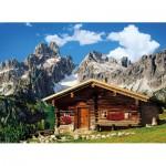 Puzzle  Clementoni-39297 Chalet de Montagne Autrichien