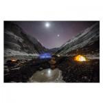 Puzzle  Clementoni-39310 National Geographic - Campement dans l'Everest