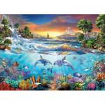 Puzzle  Clementoni-39335 Under the Sea