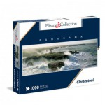 Puzzle  Clementoni-39353 Plisson - Avis de coup de vent sur le phare de la pointe des Poulains à Belle-Ile