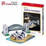 Cubic-Fun-C090H Puzzle 3D - Impressions de Sydney (Pont et Opéra)