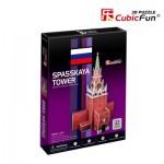 Cubic-Fun-C118H Puzzle 3D - Spasskaya Tower (Russie) - Difficulté : 4/8