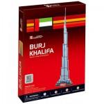 Cubic-Fun-C151H Puzzle 3D - Burj Khalifa (Difficulté : 4/8)