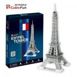 Cubic-Fun-C705H Puzzle 3D - Tour Eiffel