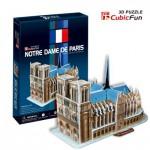Cubic-Fun-C717H Puzzle 3D - Notre-Dame de Paris (Difficulté : 4/8)