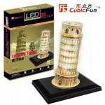 Cubic-Fun-L502H Puzzle 3D avec LED - Tour de Pise