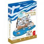 Cubic-Fun-MC195H Puzzle 3D - Santorini, Grèce - Difficulté : 5/8